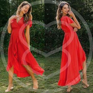 RACHEL All about the Ruffles Dress